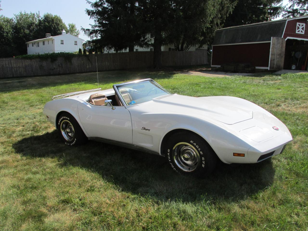 Soucy Garage - 1974 Corvette Convertible